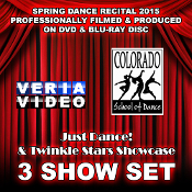 CSD Recital 2015 - 3 Show Set