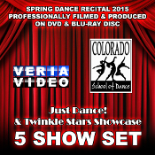 CSD Recital 2015 - 5 Show Set