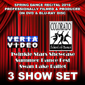 CSD Recital 2016 - 3 Show Set