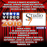 Studio 9 Dance Academy Spring Showcase Recital 2016 - Show 1
